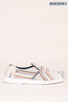 Brakeburn Stripe Slip On Shoes