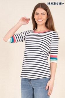 Brakeburn Long Sleeve Colour Top