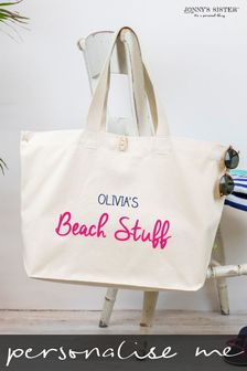 Personalised Canvas Beach Bag  by Jonny's Sister