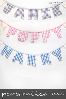 Personalised Letter Bunting  by Jonnys Sister