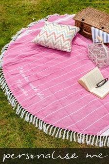 Personalised Picnic Blanket by Jonny's Sister