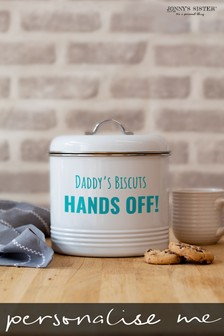 Personalised Biscuit Barrel  by Jonny's Sister