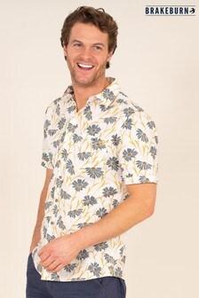 Brakeburn Sunflower Print Shirt