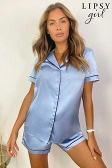 Lipsy Satin Short Pyjama