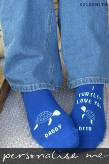 Personalised I Turtley Love You Womens Socks by Solesmith