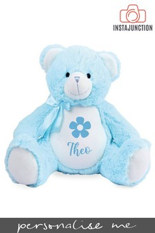 Personalised Teddy Name and Icon Cuddly Toy by Instajunction