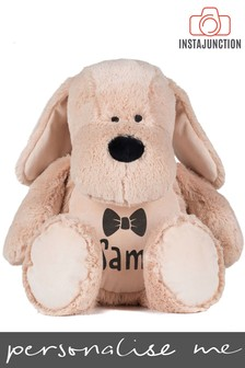 Personalised Dog Name and Icon Cuddly Toy