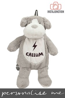 Personalised Dog Name and Icon Cuddly Back Pack