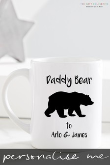 Personalised Daddy Bear Mug by Gift Collective