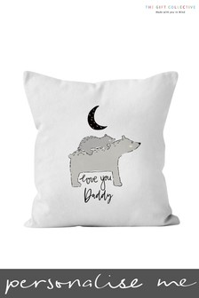 Personalised Love You Daddy Cushion by Gift Collective