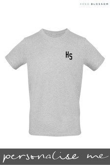 Personalised Crew Neck T-Shirt by Gift Collective