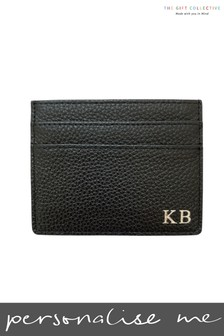 Personalised Leather Card Holder by Gift Collective