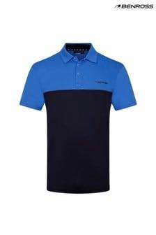 Benross Colour Block Polo Shirt Male