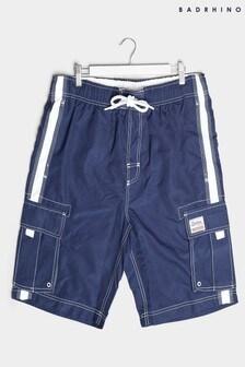 BadRhino Utility Cargo Swim Shorts