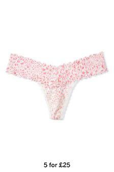 Victoria's Secret Lace-Up Thong Panty