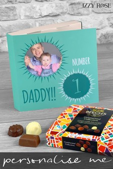 Personalised Fathers Day Card and Gifts by Izzy Rose