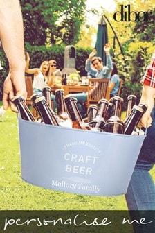 Personalised Beer Bucket by Dibor