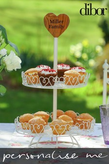 Personalised Cake Stand by Dibor