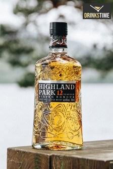 DrinksTime Highland Park 12 Year Old Viking Honour Single Malt Scotch Whisky