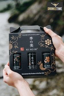 DrinksTime Ki No Bi Japanese Gin Gift Set