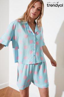 Trendyol Polka Short Pyjamas