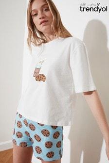 Trendyol Cookie Print Pyjamas