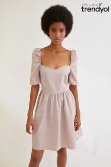 Trendyol Puff Sleeve Dress