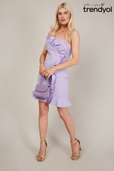 Trendyol Frill Detail Strappy Mini Dress