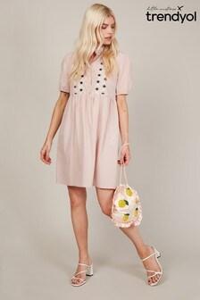 Trendyol Embrodery Detail Shift Dress