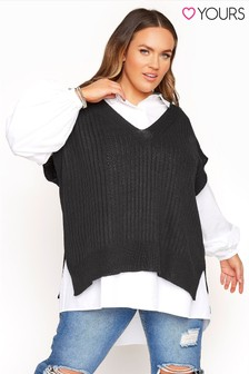Yours Knitted Vest