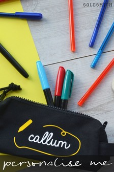 Personalised Scribble Pencil Case by Solesmith