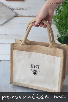Personalised Bee Lunch Bag by Solesmith