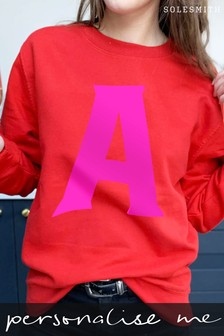 Personalised Alphabet Initial Jumper by Solesmith