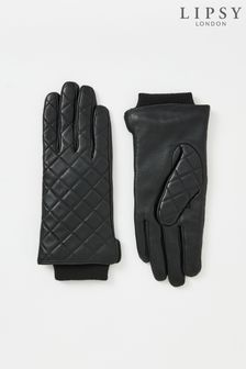 Lipsy Quilted Leather Glove