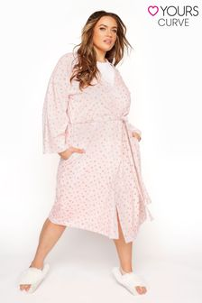 Yours Cotton Jersey Sketch Heart Robe