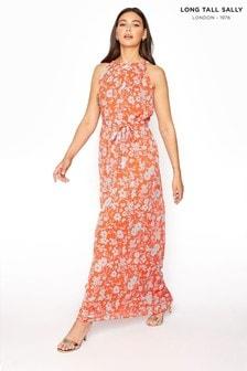 Long Tall Sally Floral Halterneck Maxi Dress