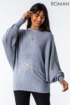 Roman Knitted Star Lounge Jumper