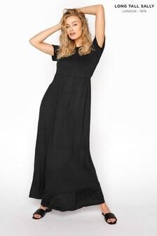 Long Tall Sally Tiered Maxi Smock Dress