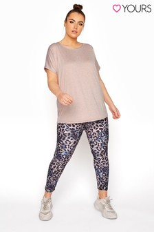 Yours Active Printed 7/8 Legging