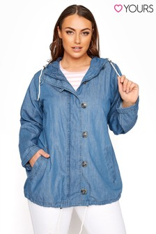 Yours Chambray Twill Jacket