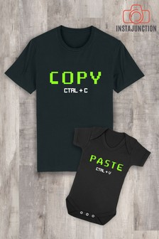 Instajunction Paste CTRL+V Baby Grow Bodysuit
