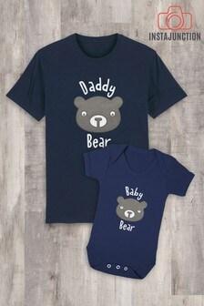 Instajunction Daddy Bear Men's T-Shirt