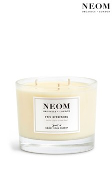 NEOM Feel Refreshed Scented Candle (3 Wicks)