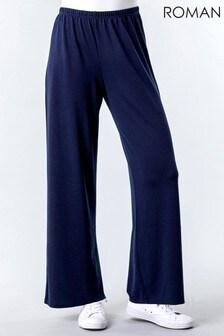 Roman Wide Leg Lounge Trousers