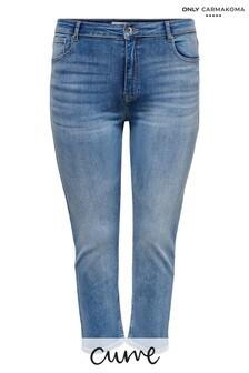 Only Carmakoma Curve Stretch Straight Leg Jeans