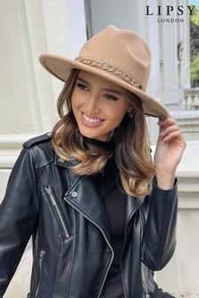 Lipsy Fedora Chain Hat