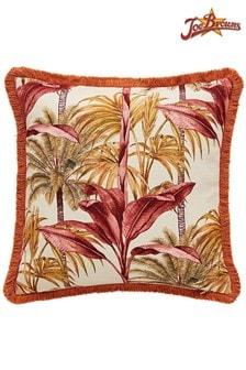 Joe Browns Truly Tropical Reversible Fringe Cushion