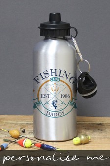 Personalised Fishing Club Sports Bottle by Signature Gifts