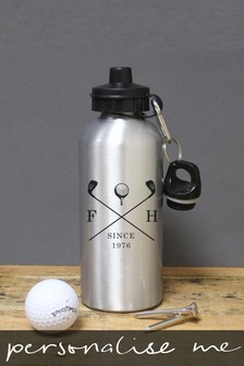 Personalised Golf Clubs Sports Bottle by Signature Gifts
