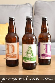 Personalised Beer 3 pack D-A-D Set by Signature Gifts